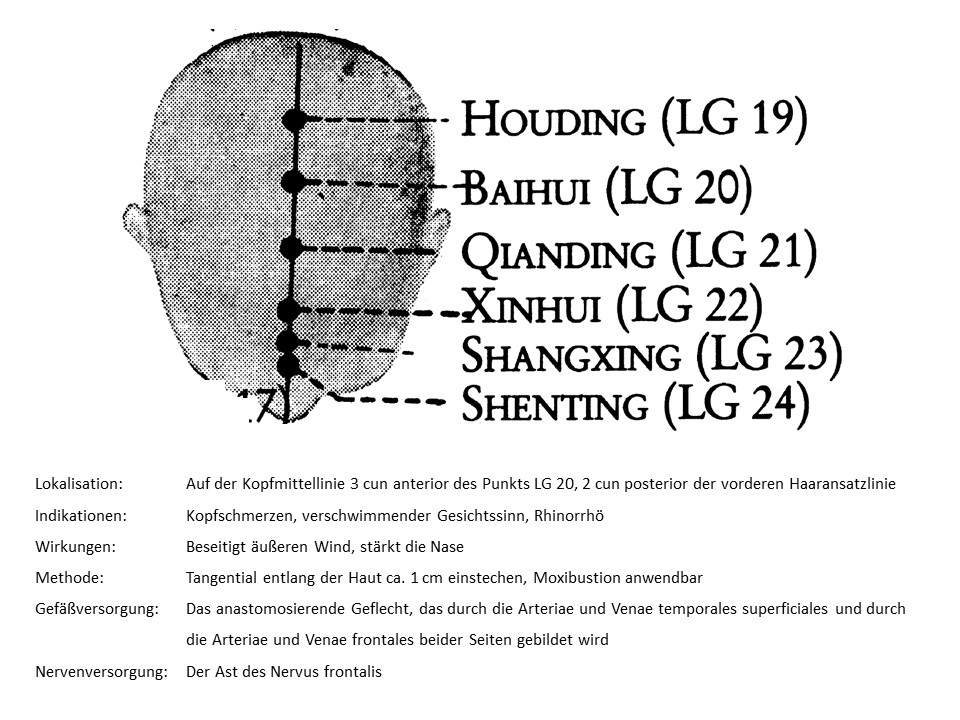 Akupunkturpunkt Lenkergefäß 22