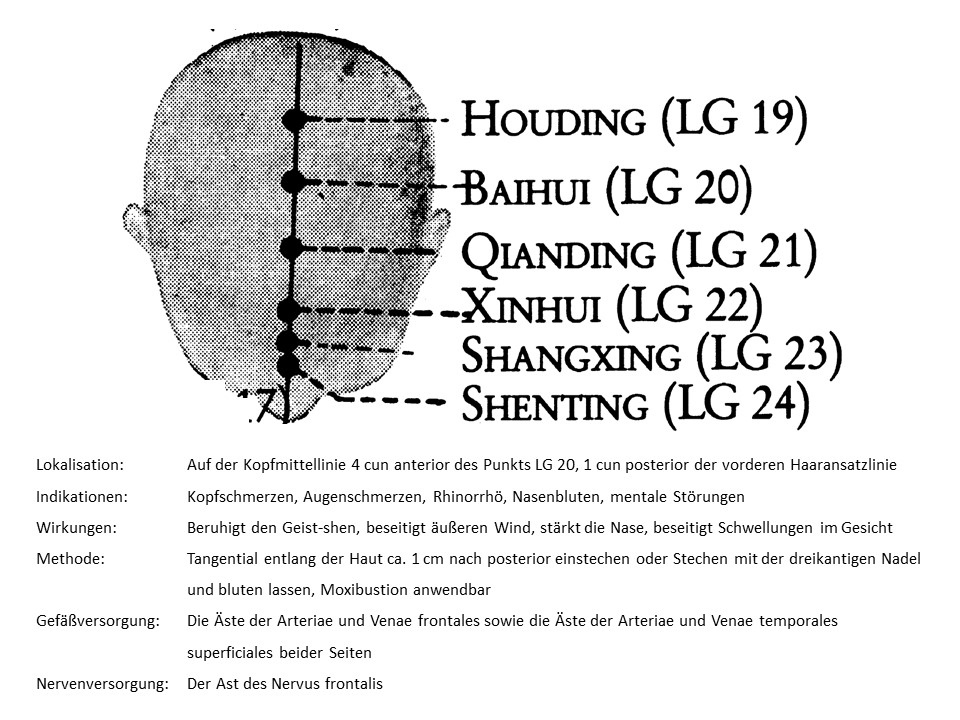 Akupunkturpunkt Lenkergefäß 23