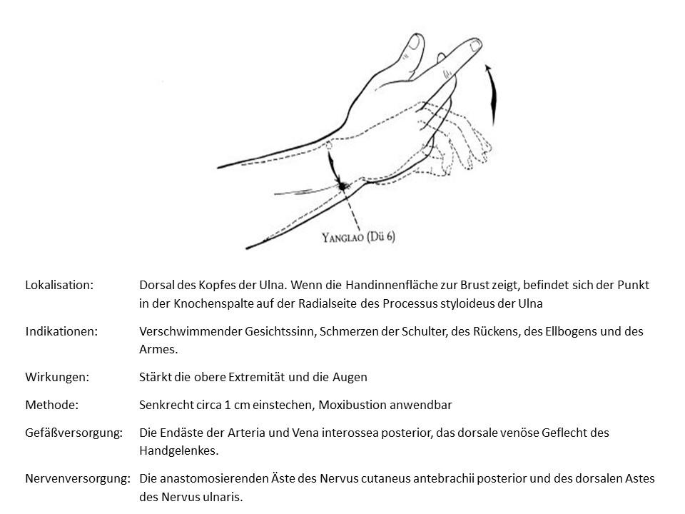 Akupunkturpunkt Dünndarm 6