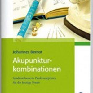 Buch-Cover Johannes Bernot: Akupunkturpunktkombinationen
